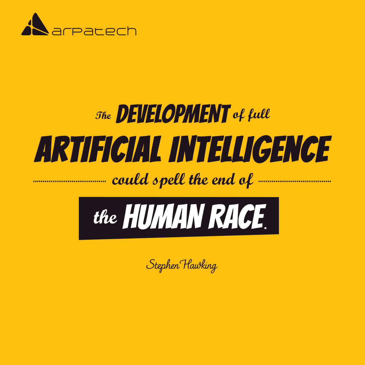 eye opener quotes on artificial intelligence