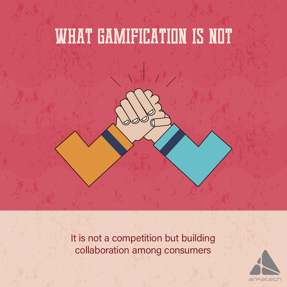 Gamification is not competition